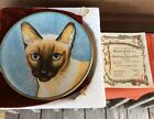 Vincinte Tiziano Artist Veneto Flair Limited Edition Collector Plate Italy Cat