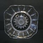 Vintage Imperial Depression Candlewick Beaded Glass Potpouri Candy Square Dish