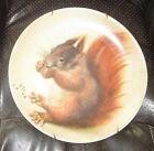 Fine vintage Limoges plate with squirrel painted by Hans Hoffman after Durer