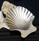 Vintage Tiffany & Co. Sterling Silver Scalloped Shell Nut Candy Trinket Dish