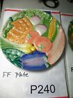 Fritz and Floyd - Bone China - Vegetable Scene - Salad Plate #2 #P240