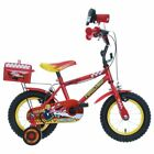 Apollo Firechief Kids Boys Bike Bicycle 12 Inch Wheels Steel Frame in Red
