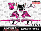 NEW GRAPHICS DECAL STICKER KIT PEEWEE PW50 PW 50CC 1981 to 2010 ALL YEARS 5131