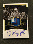 Kevin Durant 2015 Panini National Treasures Night Moves 3 Color Patch Auto 10 10
