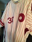 MLB Authentic Mitchell and Ness Philadelphia Phillies Dave Cash Jersey 60!
