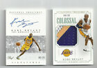 2014-15 National Treasures Kobe Bryant Gold Proof Auto + Colossal Patch 10 Lot