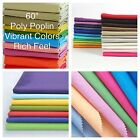 100 Polyester Poly Poplin Fabric 5860 Wide Sewing-quilting-tablecloths Party