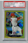 2013 Bowman Chrome Anthony Rendon Gold Refractor PSA 10 #27 of 50