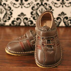 Boys Toddler Brown Squeaky Sneaker Shoes Sizes 3 4 5 6 7 8 9