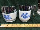 Vintage GEMCO/CORELLE Sugar and Creamer Set Coordinate Cornflower Blue Pattern