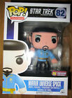 FUNKO POP! STAR TREK MIRROR UNIVERSE SPOCK FIGURE VARIANT PX PREVIEWS EXCLUSIVE
