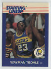 Wayman Tisdale 1988 Starting Lineup Card NrMt+