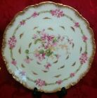 Antique C. Ahrenfeldt Limoges Pink & Gold Cabinet Plate CA France Depose 9