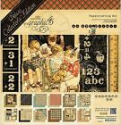 Deluxe Collectors Edtion An ABC Primer School Scrapbooking Kit Graphic 45 NEW