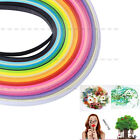 160 Stripes Quilling Paper 3 5mm Width Mixed Color Origami Paper Craft DIY Toy