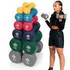 Neoprene Hand Weights Dumbells Iron Home Gym Fitness Aerobic Ladies Men Exercise