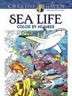 SEA LIFE COLOR BY NUMBER GEORGE TOUFEXIS PAPERBACK NEW
