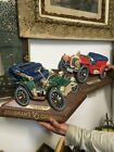 Vintage! Shows 1906car Seagrams VO Canadian Plastic And Another Car Plaques USA