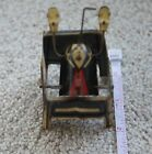 Vintage Antique Mickey Mouse Tin Base Toy Missing Mickey's Head