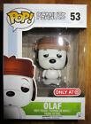 FUNKO POP OLAF PEANUTS FIGURE TARGET EXCLUSIVE SNOOPY'S BROTHER LIMITED