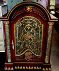 Gorgeous French Empire, Scagliola Style Marble Inserts Cabinet Credenza Chest