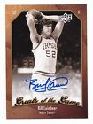 2009-10 Greats of the Game Autograph #63 Bill Laimbeer Notre Dame Fighting Irish