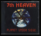 7th Heaven - Planet Under Siege - 1992/2008 Retrospect Records - Rare OOP CCM