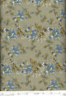 Anna Griffin Sigourney Floral Sage BL Quilt Fabric - Free Shipping - 1 Yard