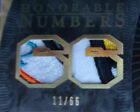 07-08 THE CUP MARIO LEMIEUX RC 8CLR HONORABLE NUMBERS PATCH RC AUTO 66 L@@K 1 1