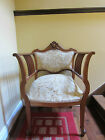 Fabulous Antique Walnut Federal Chair, Circa Late 1800 or Early 1900's