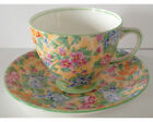 Pretty Vintage Sampson Smith Old Royal China Chintz Cup and Saucer