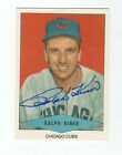 Ralph Kiner 1954 Red Heart reprint signed auto autographed card Chicago Cubs