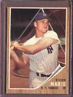 Roger Maris Cards and Autographed Memorabilia Guide 10