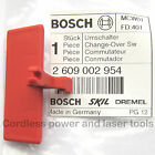 Bosch PSB1000-2 RCA Drill Forward Reverse Change-Over Switch Slide 2 609 002 954