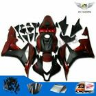 Red With Black Injection Fairing Kit for Honda 2007 2008 CBR 600 RR F5 cI3