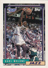 1992 Starting Lineup KARL MALONE Topps Card NrMint