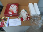 Fitz and Floyd Santa Plate Town & Country Christmas new in box