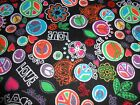 FabricPeace Love Harmony Cotton flannel craft sewing quilting by Snuggle