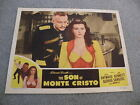 The Son of Monte Cristo Movie #47/1367 4 Starring Louis Hayward 1947 lobby card