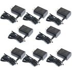8x Switching Security Power Supply Adapter 100V-240V AC to 12V DC 500mA CCTV 1H1