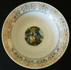LIMOGES TRIUMPH SERVING BOWL LOVE SEAT IT-S280 WARRANTED 22 K GOLD MADE U.S.A.