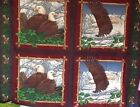 Eagle Fabric Pillow Fabric Project Panel Bald Eagle 1 Yd 100% Cotton