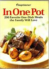 Weight Watchers In One Pot Cookbook 200 Favorite One Dish Family Meals