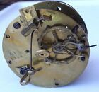Antique French Mantel clock movement not running for parts or repair MV405