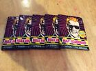 1986 Topps Max Headroom RARE 5 Unopened Packs Lot From Box