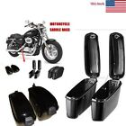 Motorcycle Accessories Trunk Saddlebags Saddle Bags Side Hard Case for Harley US