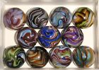 JABO MARBLES*ODYSSEY PLUS*~11~DAZZLING COLORS 2010 COLLECTOR SET FREE SHIPPING