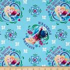 DISNEY FROZEN COTTON FABRIC SISTERS FOREVER MY SISTER MY HERO-BY THE YARD