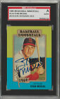 Stan Musial 1980 Baseball Immortals signed auto autographed card SGC Certified