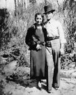 1933 Bank Robbers BONNIE  CLYDE Glossy 8x10 Photo Criminal Print Vintage Poster